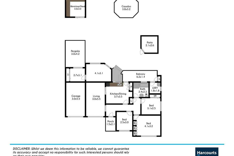 Floorplan of Homely house listing, 27 Laver Street, Shalvey NSW 2770