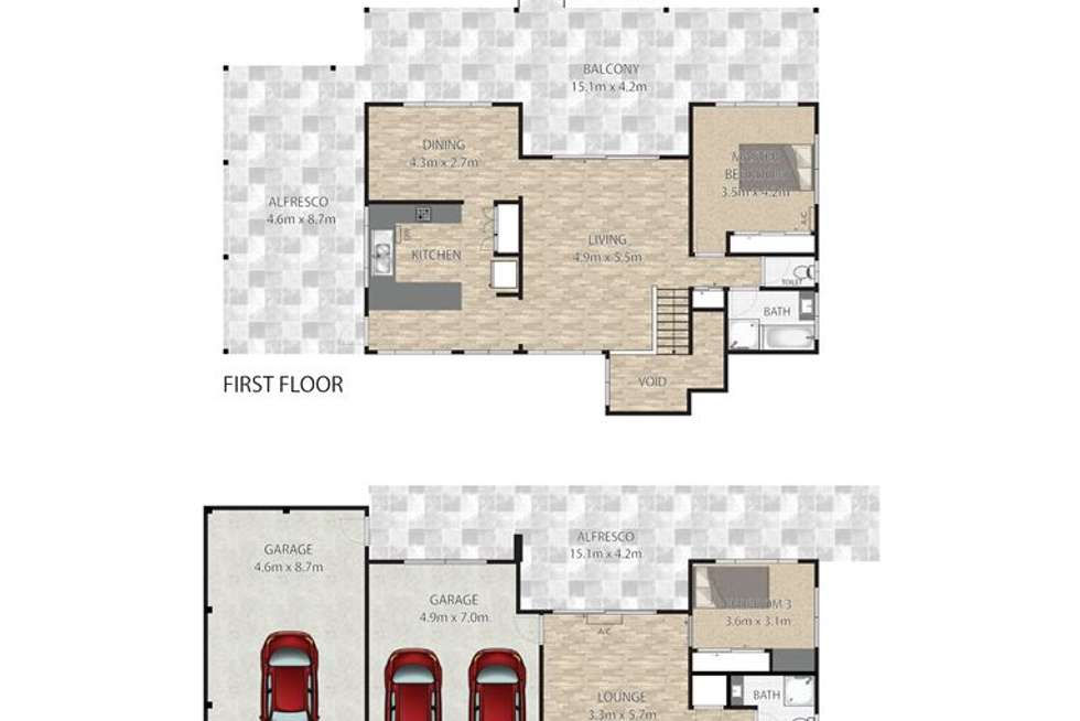 Floorplan of Homely house listing, 4 Owl street, Birkdale QLD 4159