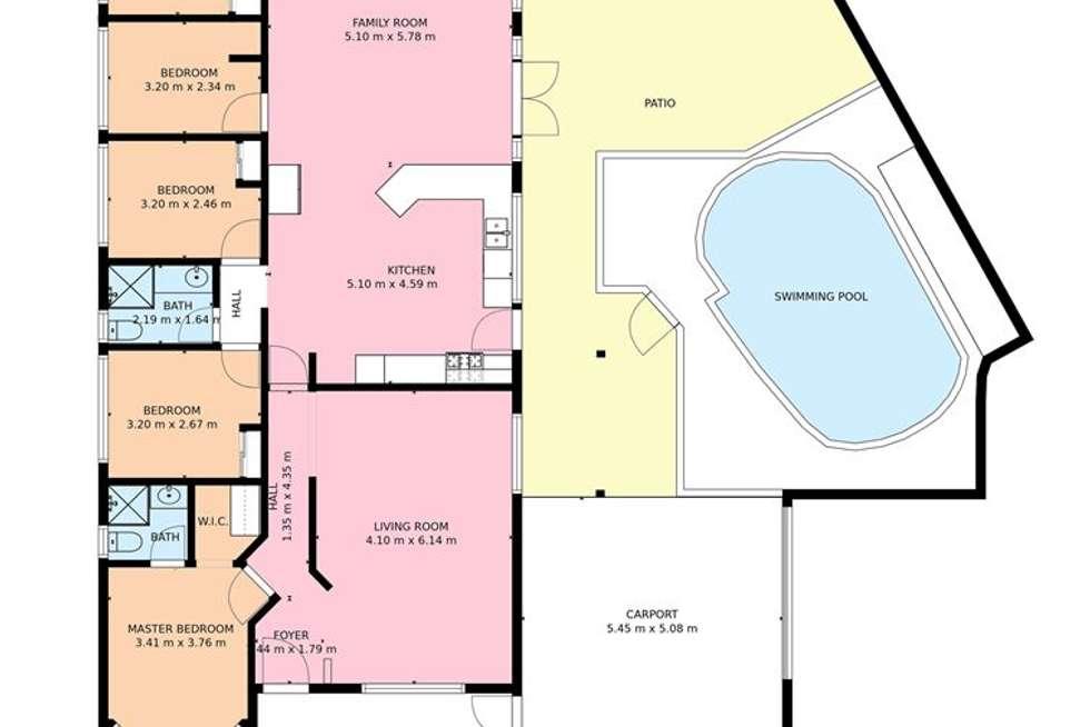 Floorplan of Homely house listing, 5 Bergalia Mews, Currambine WA 6028