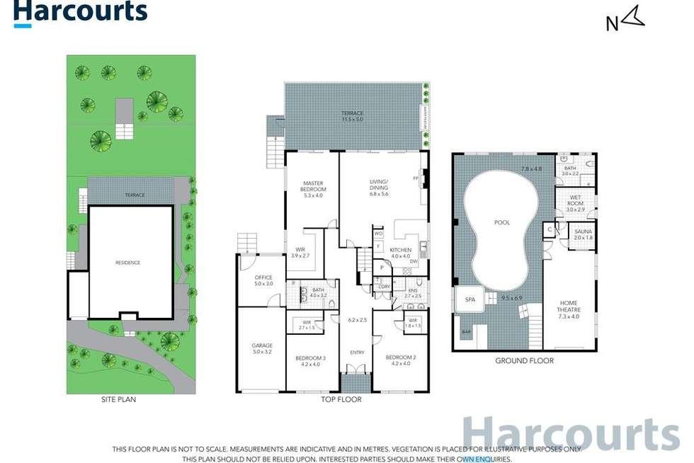 Floorplan of Homely house listing, 34 Roseman Road, Chirnside Park VIC 3116