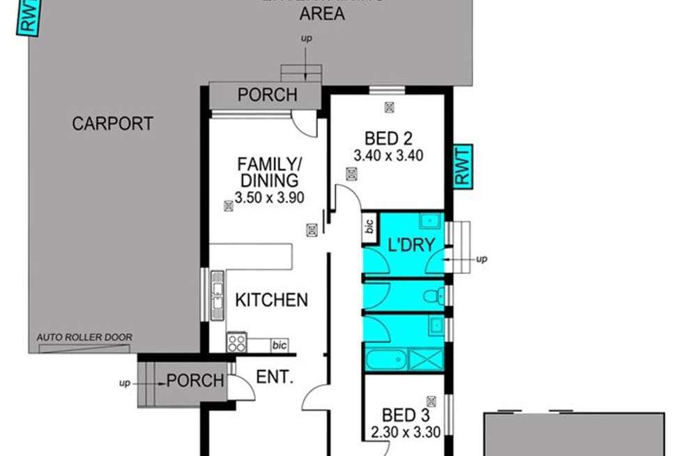Floorplan of Homely house listing, 4 Birubi Way, Morphett Vale SA 5162