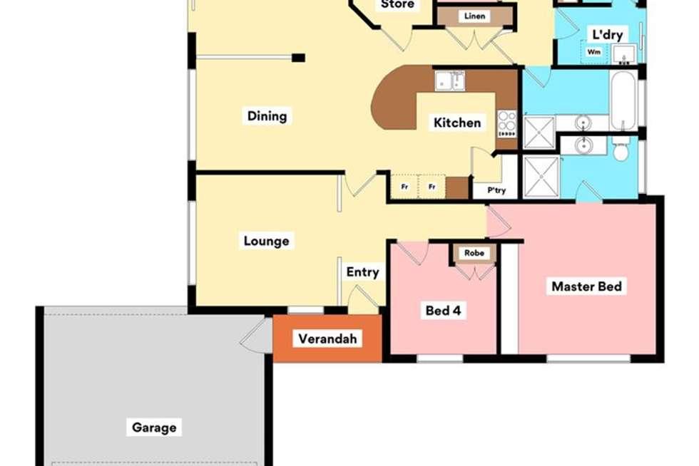 Floorplan of Homely house listing, 43 Paddington Avenue, Currambine WA 6028