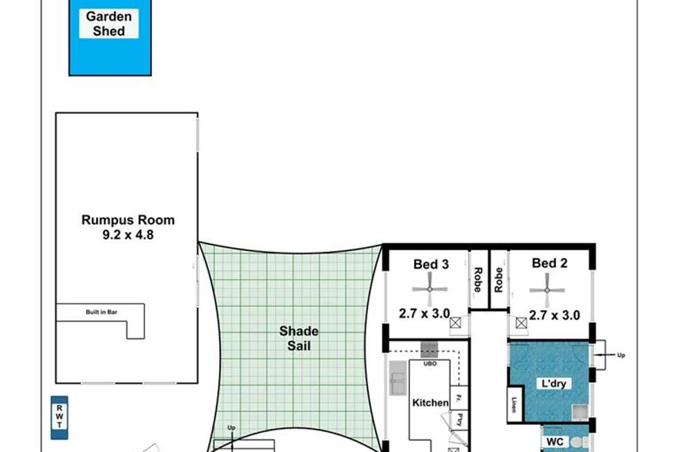 Floorplan of Homely house listing, 26 Conington Crescent, Morphett Vale SA 5162