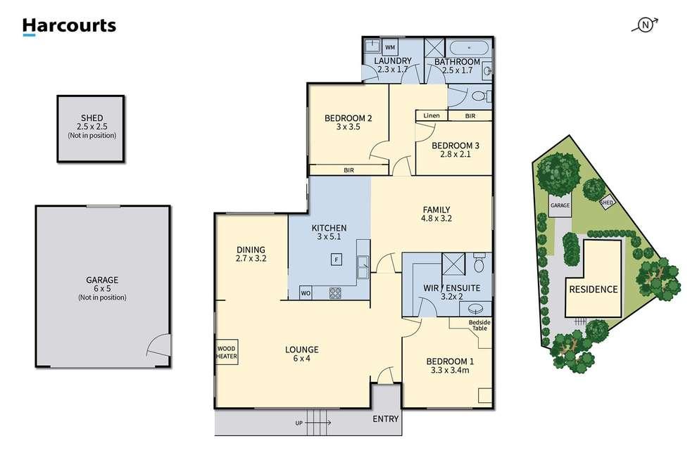 Floorplan of Homely house listing, 11 Hall Court, Summerhill TAS 7250