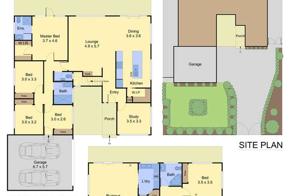 Floorplan of Homely house listing, 140 Morack Road, Vermont South VIC 3133