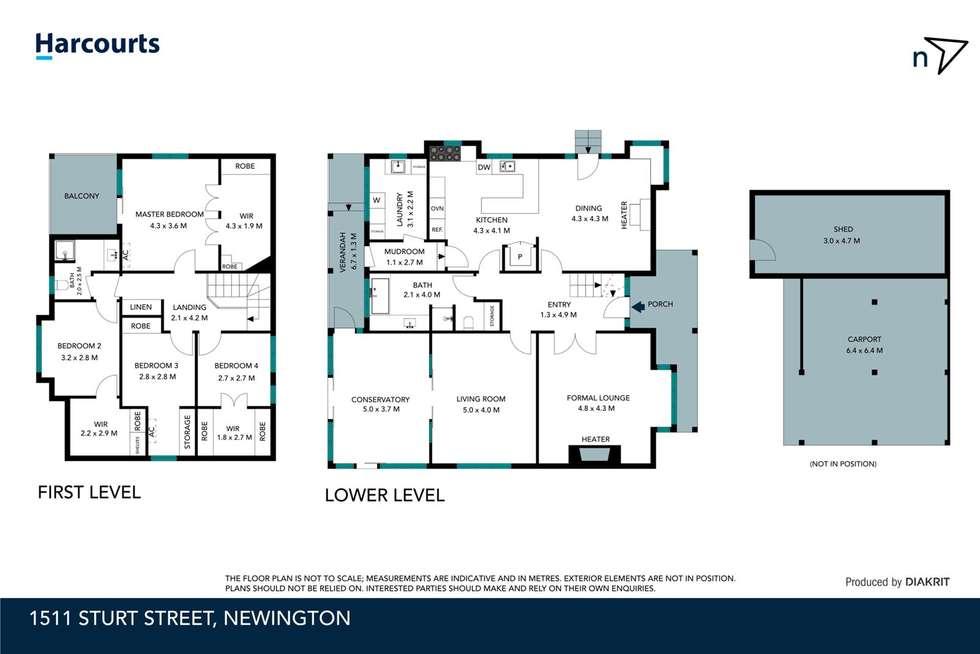 Floorplan of Homely house listing, 1511 Sturt Street, Newington VIC 3350