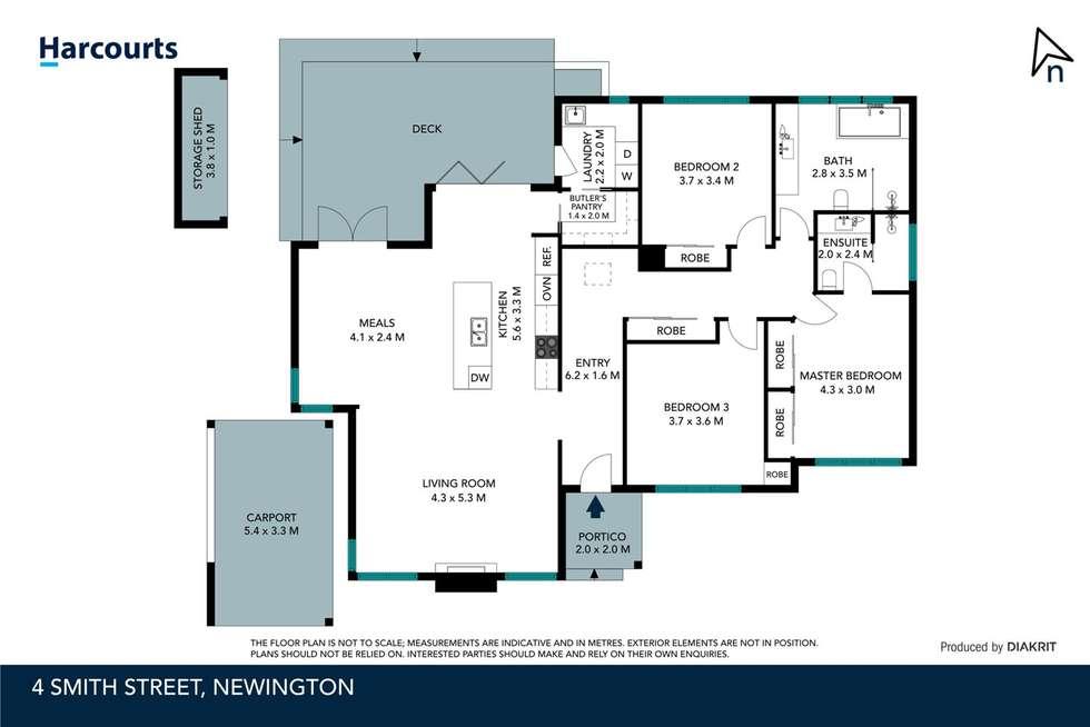 Floorplan of Homely house listing, 4 Smith Street, Newington VIC 3350