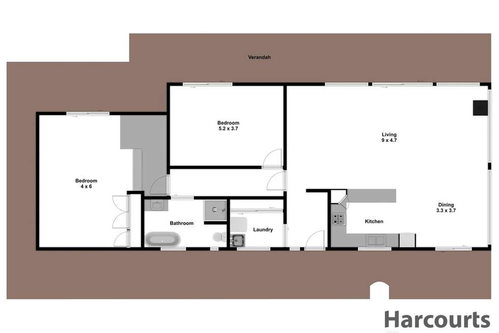 Floorplan of Homely acreageSemiRural listing, 931 Moe Rawson Road, Tanjil South VIC 3825