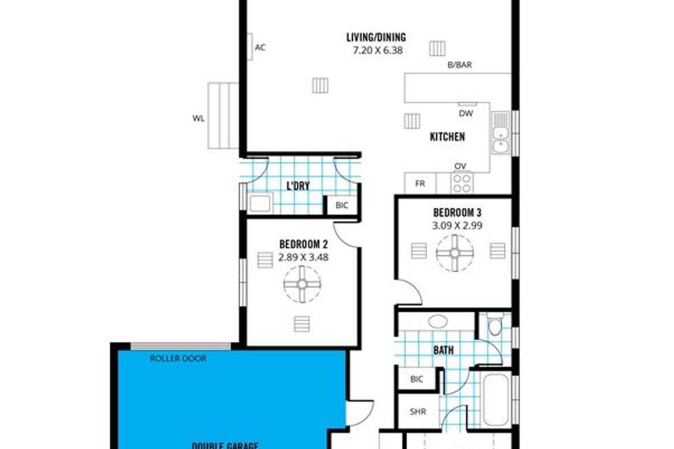 Floorplan of Homely house listing, House 4/24 Solace Drive, Morphett Vale SA 5162