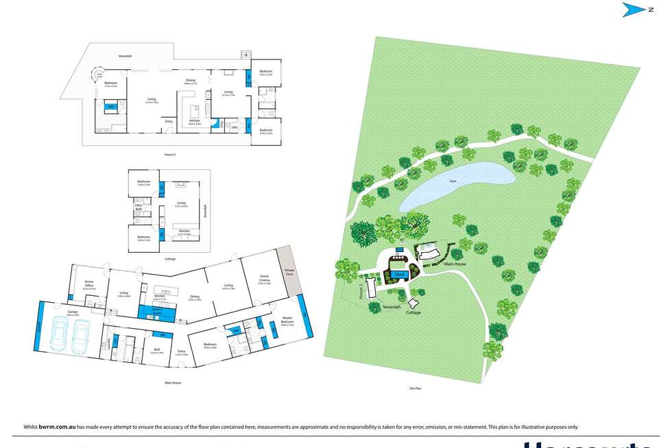 Floorplan of Homely house listing, 69 Parkinsons Lane, Elaine VIC 3334
