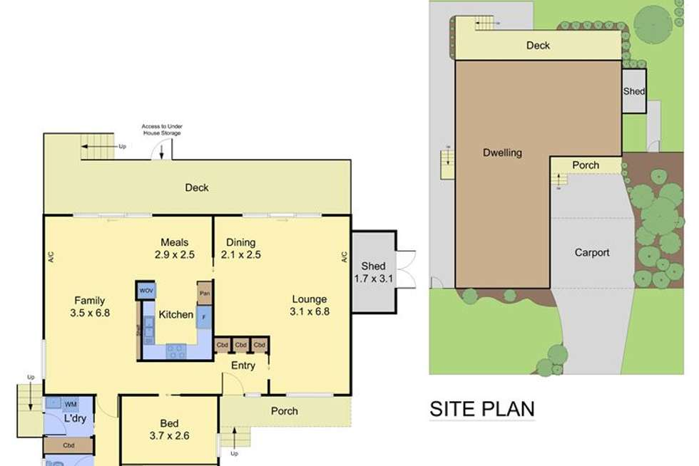 Floorplan of Homely house listing, 12 Minerva Crescent, Vermont South VIC 3133