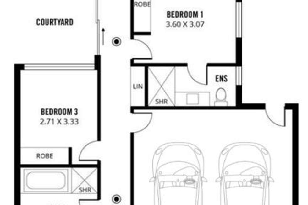 Floorplan of Homely house listing, 26b Langman Grove, Felixstow SA 5070