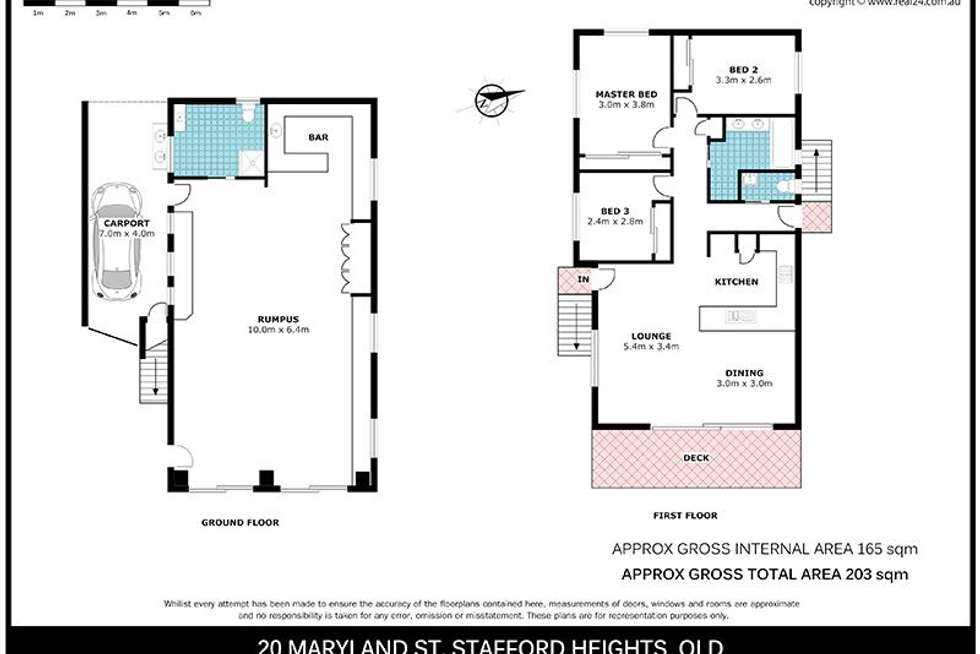 Floorplan of Homely house listing, 20 Maryland Street, Stafford Heights QLD 4053