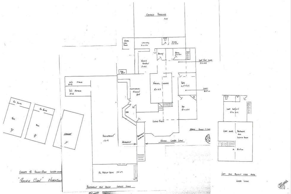 Floorplan of Homely acreageSemiRural listing, 1 The Esplanade, Naracoopa TAS 7256