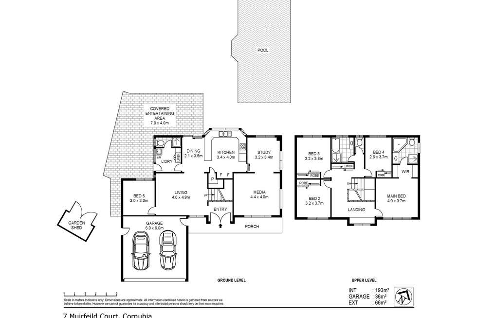 Floorplan of Homely house listing, 7 Muirfield Court, Cornubia QLD 4130