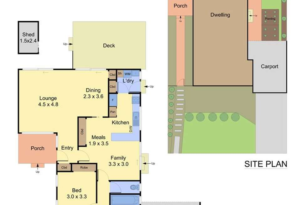 Floorplan of Homely unit listing, 16 Overland Drive, Vermont South VIC 3133