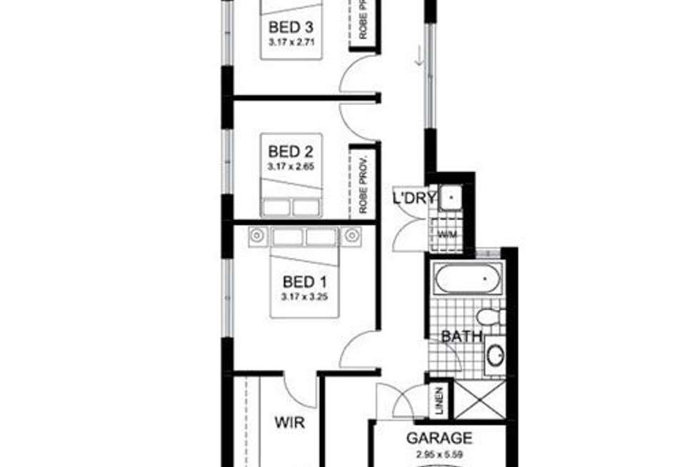 Floorplan of Homely house listing, 54 Briar Road, Felixstow SA 5070