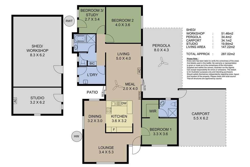 Floorplan of Homely house listing, 17 Gilbert Road, Mount Barker SA 5251