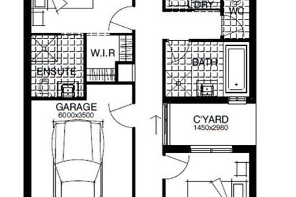 Floorplan of Homely house listing, 60 Briar Road, Felixstow SA 5070