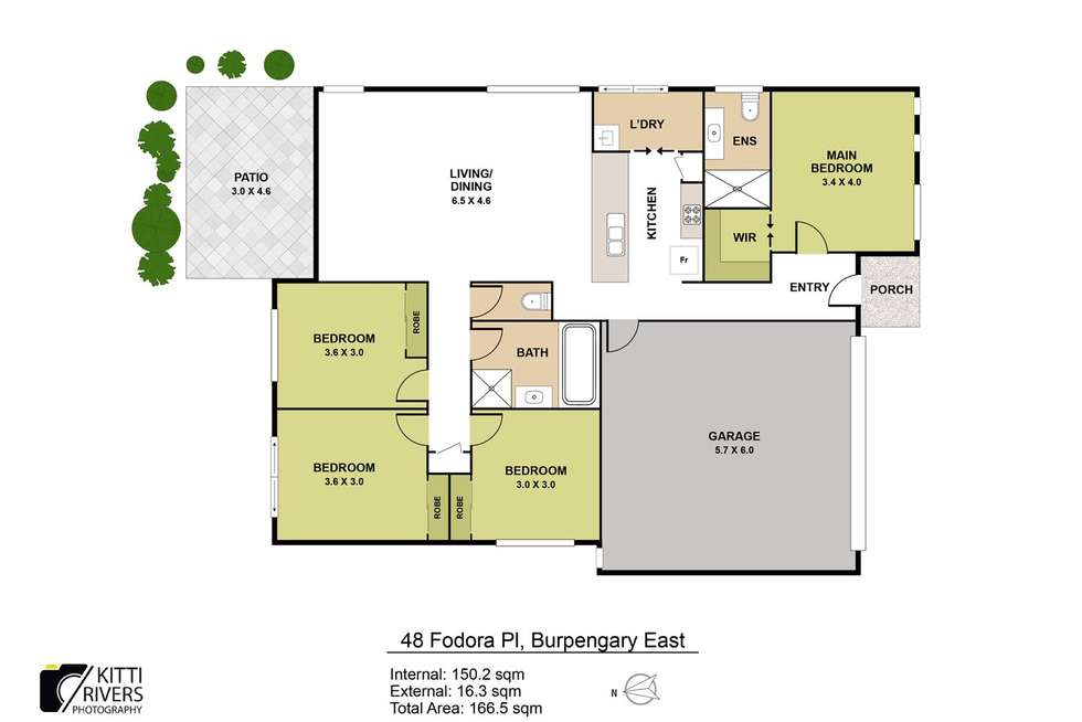 Floorplan of Homely house listing, 48 Fodora Place, Burpengary East QLD 4505