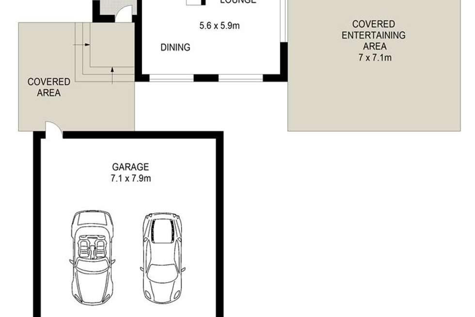 Floorplan of Homely house listing, 61 Desborough Rd, Colyton NSW 2760