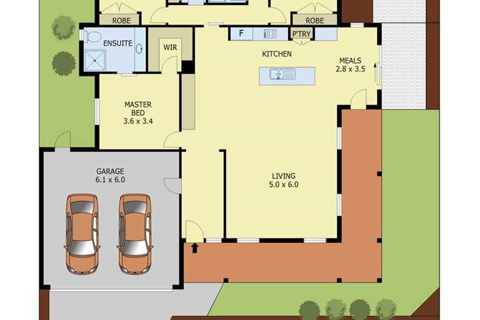 Floorplan of Homely house listing, 118 Stoddarts Road, Warragul VIC 3820