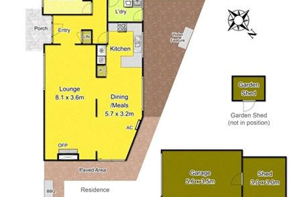 Floorplan of Homely house listing, 7 Peppercorn Pde, Epping VIC 3076
