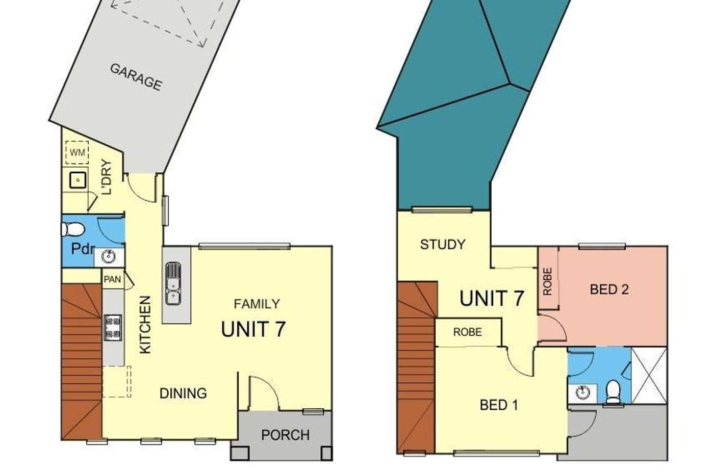 Floorplan of Homely townhouse listing, Address available on request