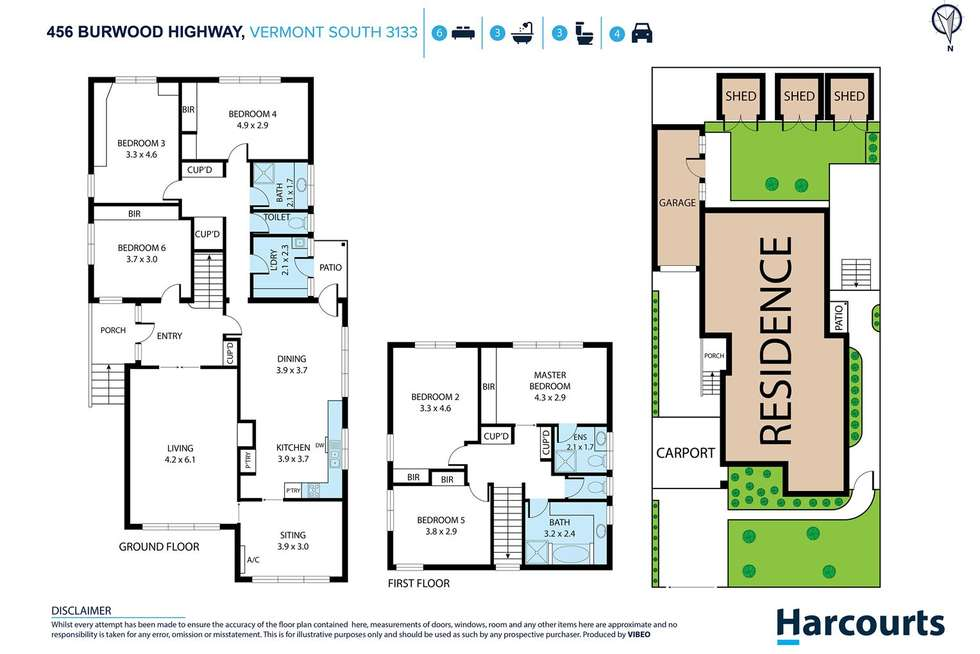 Floorplan of Homely house listing, 456 Burwood Highway, Vermont South VIC 3133