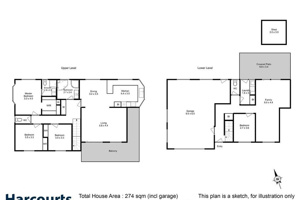 Floorplan of Homely house listing, 3 Walters Drive, Orford TAS 7190