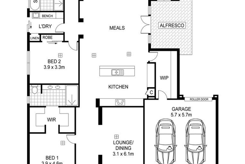 Floorplan of Homely house listing, 140 Seventh Ave, Royston Park SA 5070