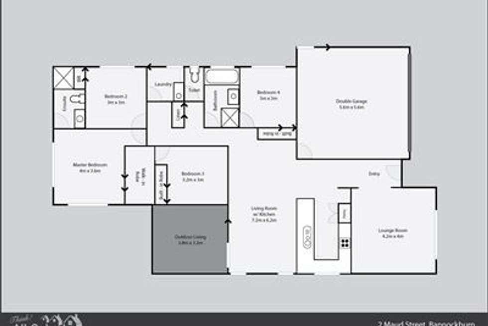Floorplan of Homely house listing, 2 Maud Street, Bannockburn QLD 4207