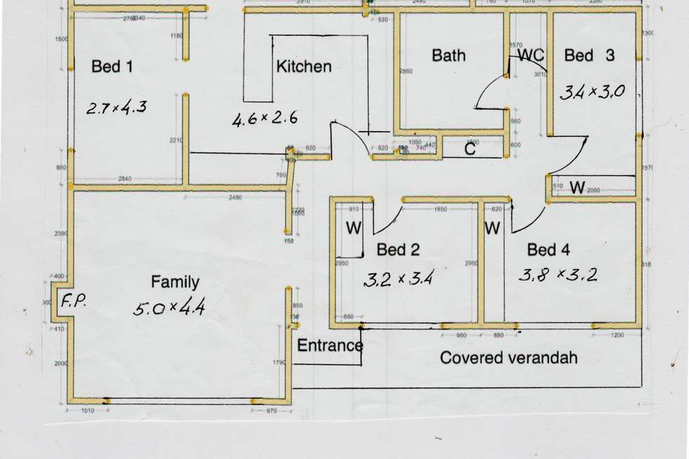Floorplan of Homely house listing, 667 Nepean Highway, Frankston South VIC 3199