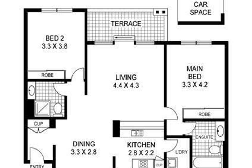 Floorplan of Homely apartment listing, 19-21 George Street, North Strathfield NSW 2137