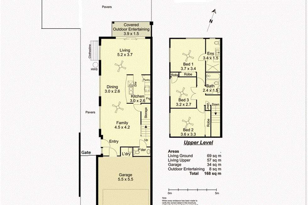 Floorplan of Homely semiDetached listing, 26 Inwood Circuit (106), Merrimac QLD 4226