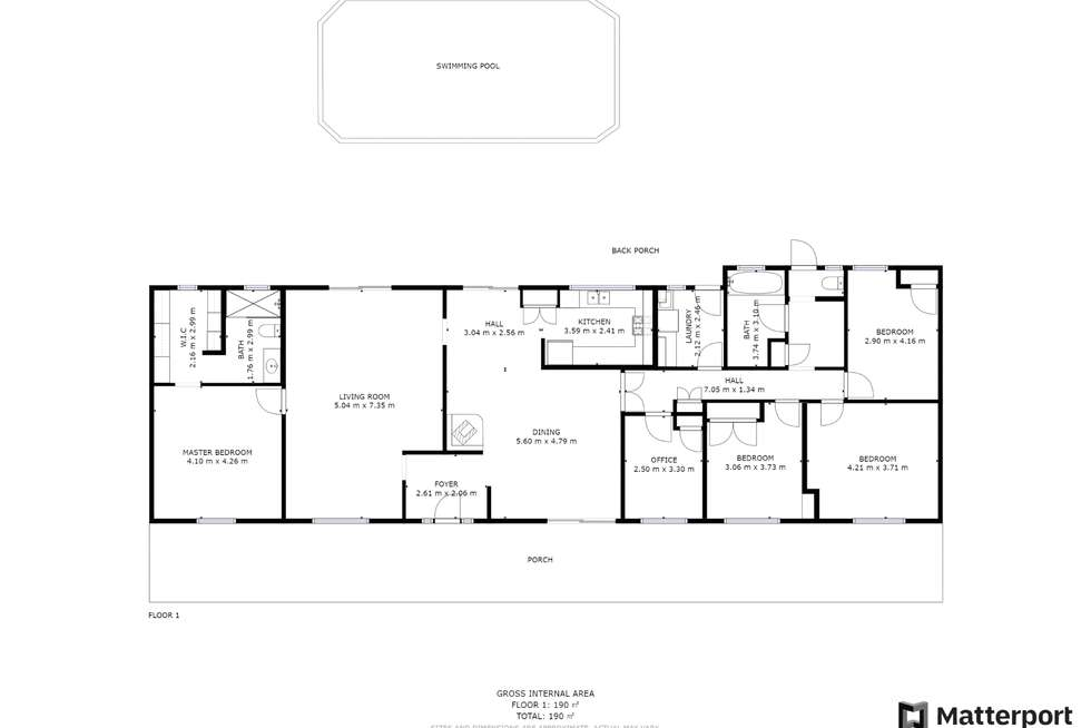 Floorplan of Homely acreageSemiRural listing, 5 Alice Bowden Court, Worongary QLD 4213