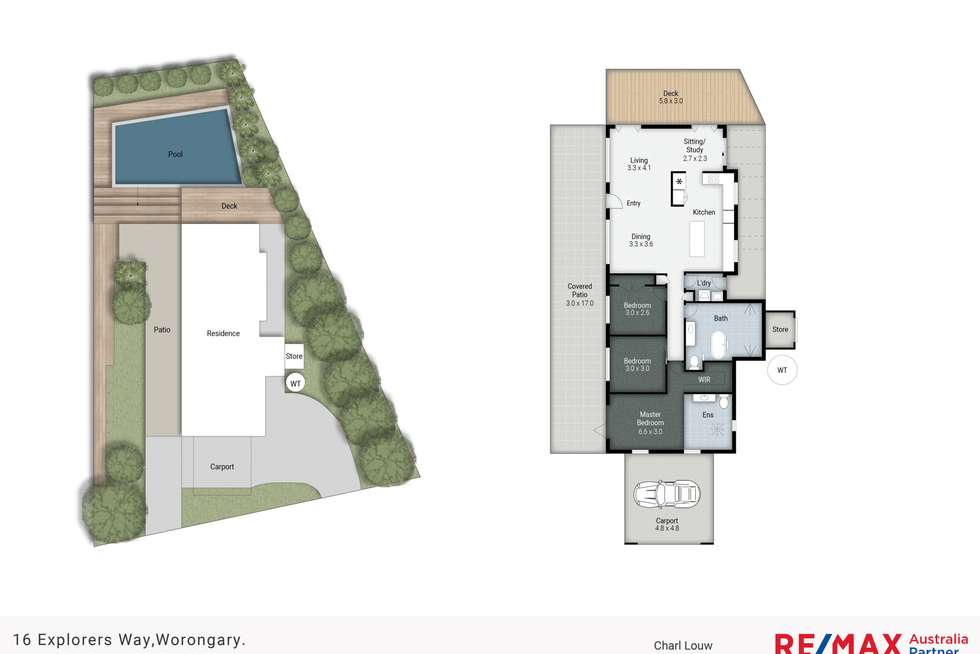 Floorplan of Homely house listing, 16 Explorers Way, Worongary QLD 4213