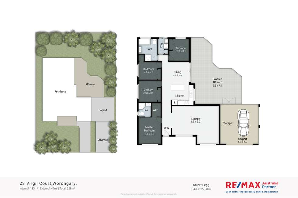 Floorplan of Homely house listing, 23 Virgil Court, Worongary QLD 4213