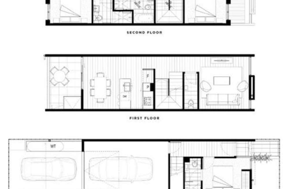 Floorplan of Homely townhouse listing, 60 Harvest Court, Doncaster VIC 3108