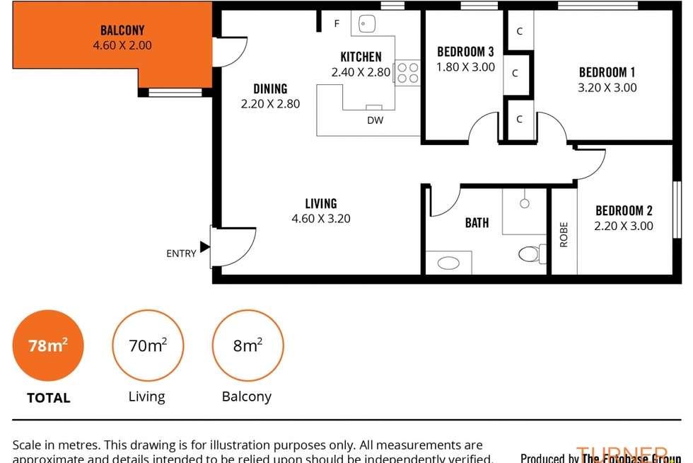 Floorplan of Homely unit listing, 5/35 Nile Street, Glenelg SA 5045