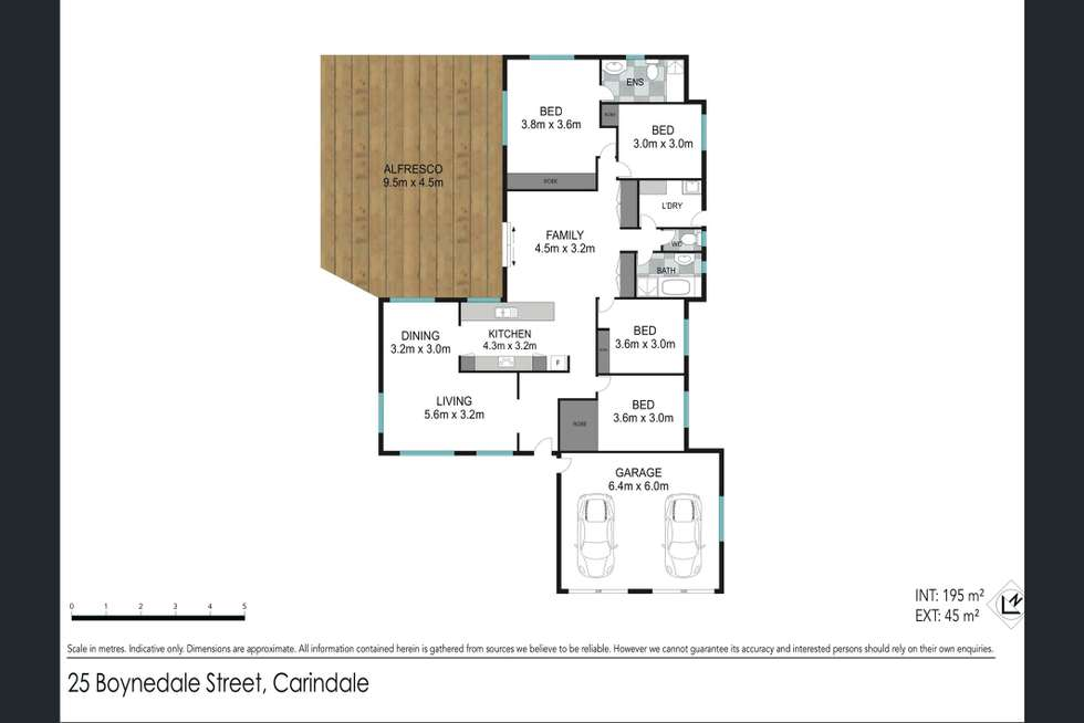 Floorplan of Homely house listing, 25 Boynedale Street, Carindale QLD 4152