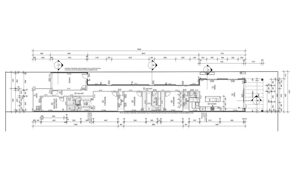 Floorplan of Homely villa listing, 3 Norma Street, Mile End SA 5031