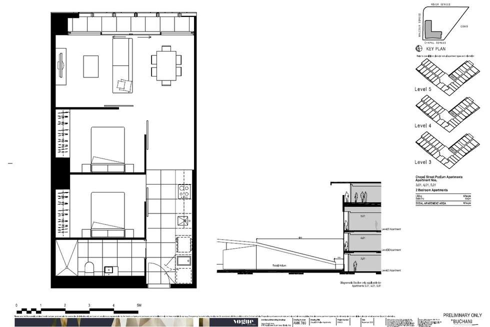 Floorplan of Homely apartment listing, 301/35 Malcolm Street,, South Yarra VIC 3141
