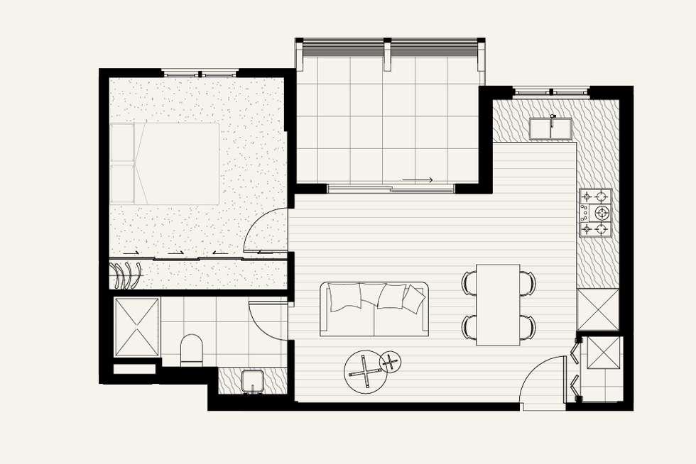 Floorplan of Homely apartment listing, 1.09/11 Livingstone Street, Ivanhoe VIC 3079