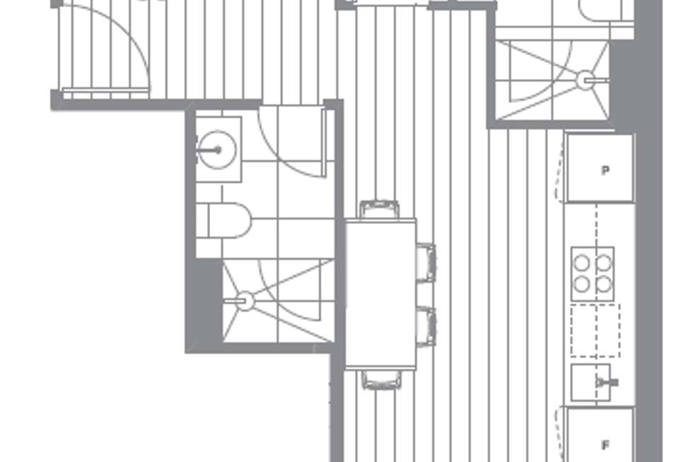 Floorplan of Homely apartment listing, 1301/649 Chapel Street, South Yarra VIC 3141