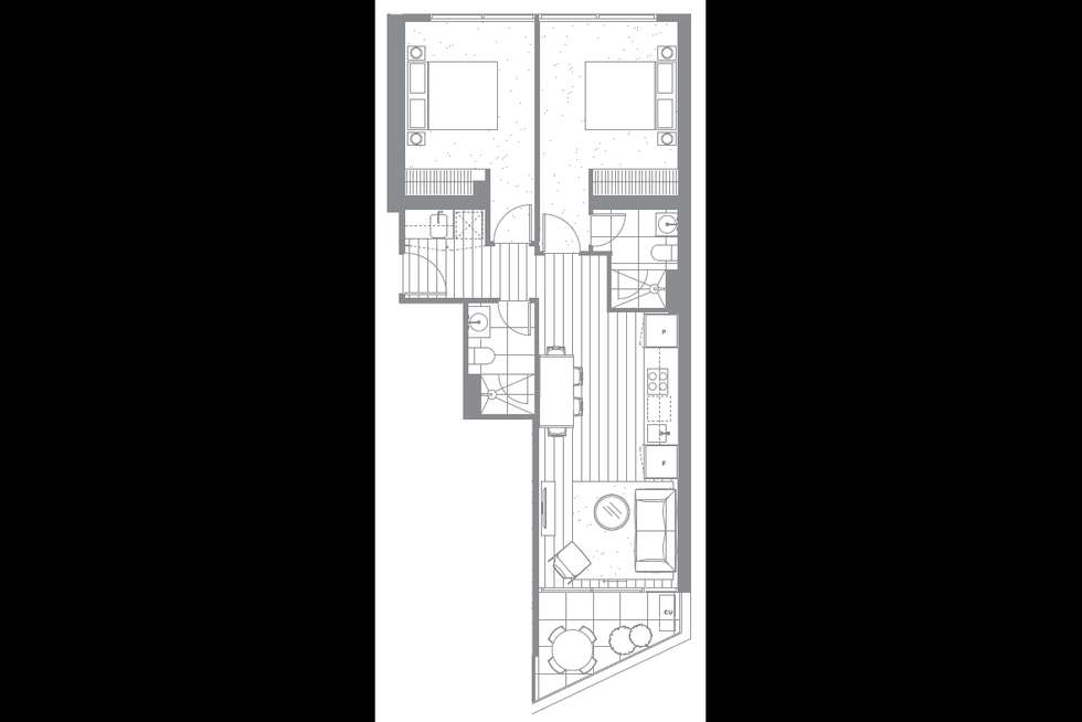 Floorplan of Homely apartment listing, 401/649 Chapel Street, South Yarra VIC 3141