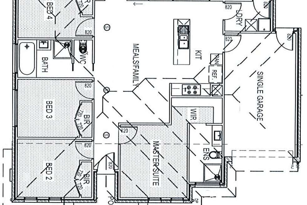 Floorplan of Homely house listing, 14 Nassau Road, Point Cook VIC 3030