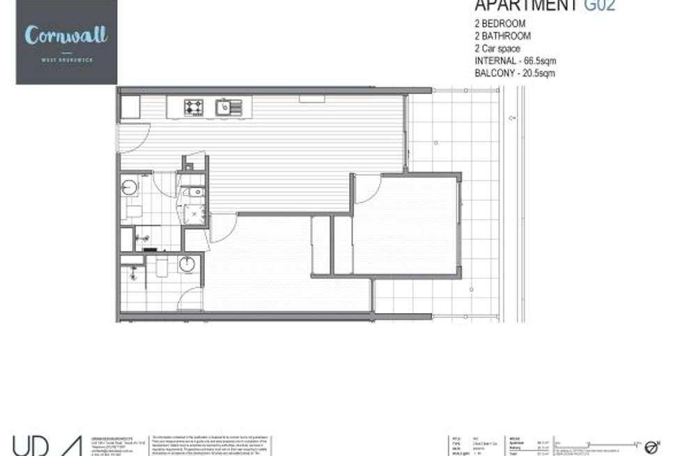 Floorplan of Homely apartment listing, G02/360 Moreland Road, Brunswick West VIC 3055