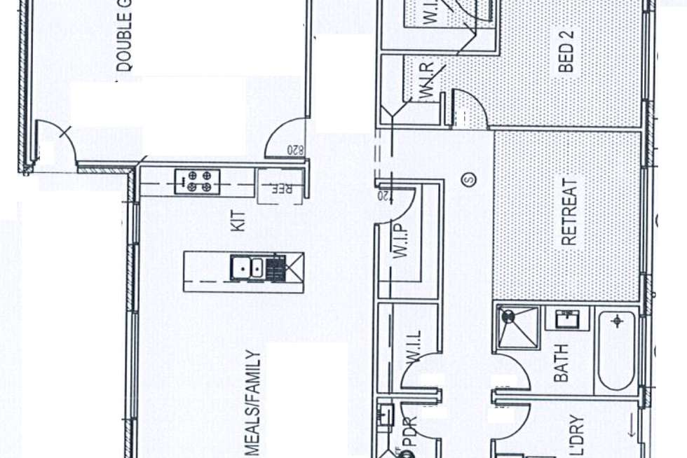 Floorplan of Homely house listing, 5 Isham Street, Point Cook VIC 3030