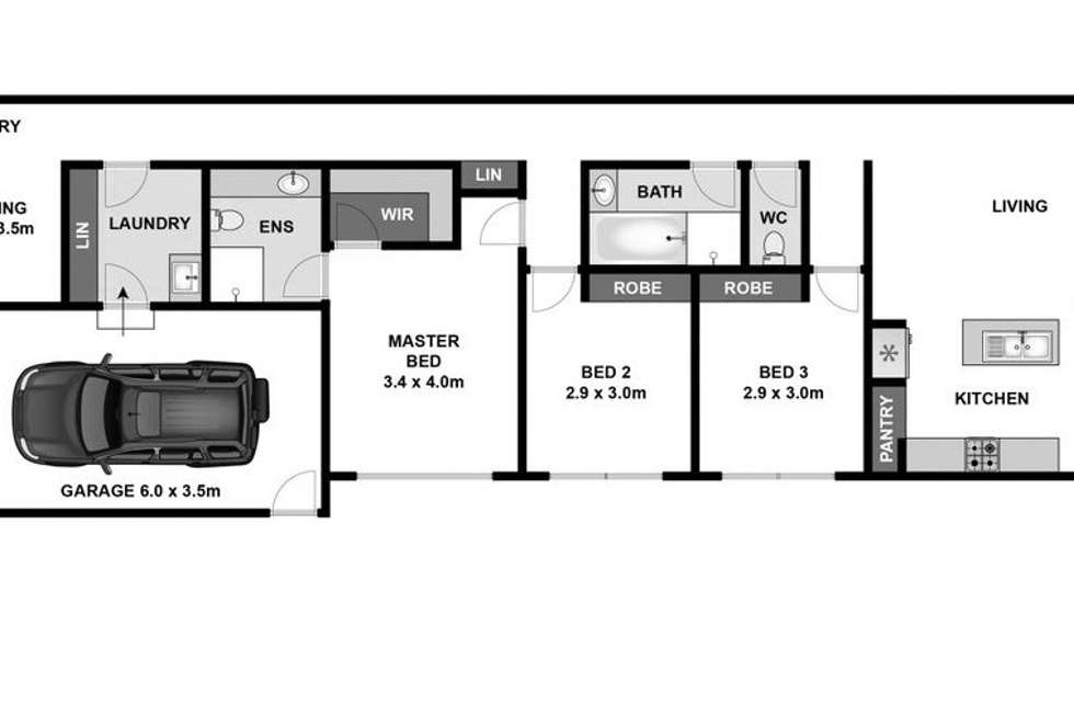 Floorplan of Homely house listing, 5B Hill Park Place, Highton VIC 3216